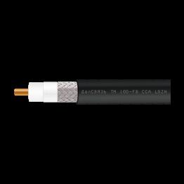 Кабель коаксиальный 10D-FB CCA LSZH (черный, не поддерживающий горение)