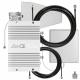 Комплект DS-900/1800-23C2